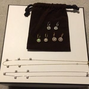 Nadri Bundle Earrings and Necklaces